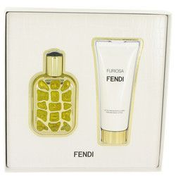 Fendi Furiosa by Fendi Gift Set -- 1.7 oz Eau De Parfum Spray + 2.5 oz Body Lotion (Women)