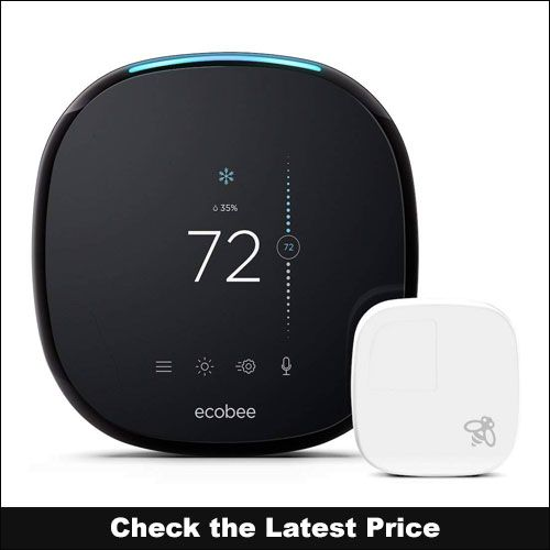 Ecobee4 Alexa Enabled Smart Thermostat For Multiple Zone Ecobee Smart Thermostats Home Tech