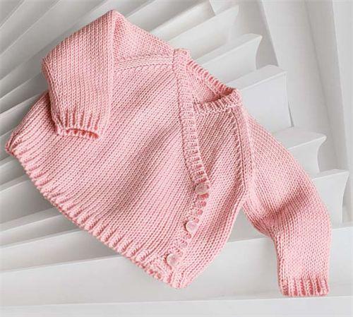Bergere de France Origin Cross Your Heart Jacket Knitting Pattern Tricotons...