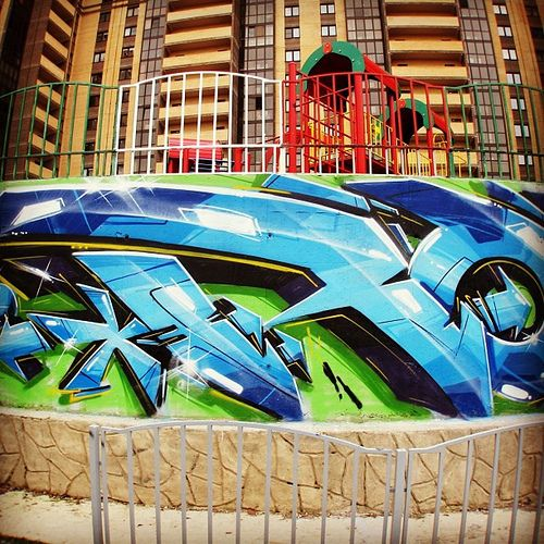 All toys chill :) #rasko #graffiti #grafite #russia #rap #hiphop #3d #drawing #street #art #amazing  #beautiful #bombing #best  #most #popular  http://www.facebook.com/dmitry.rasko