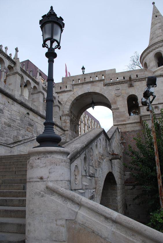 Castle District, Budapest, Hungary, original photo Debra Newton