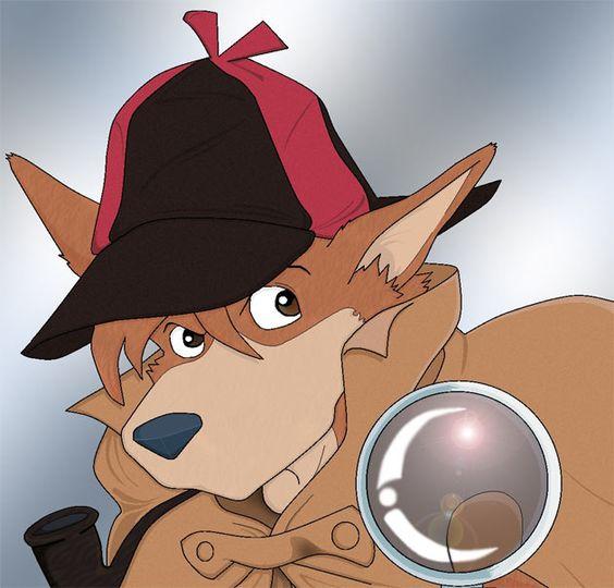 犬キャラクターホームズ