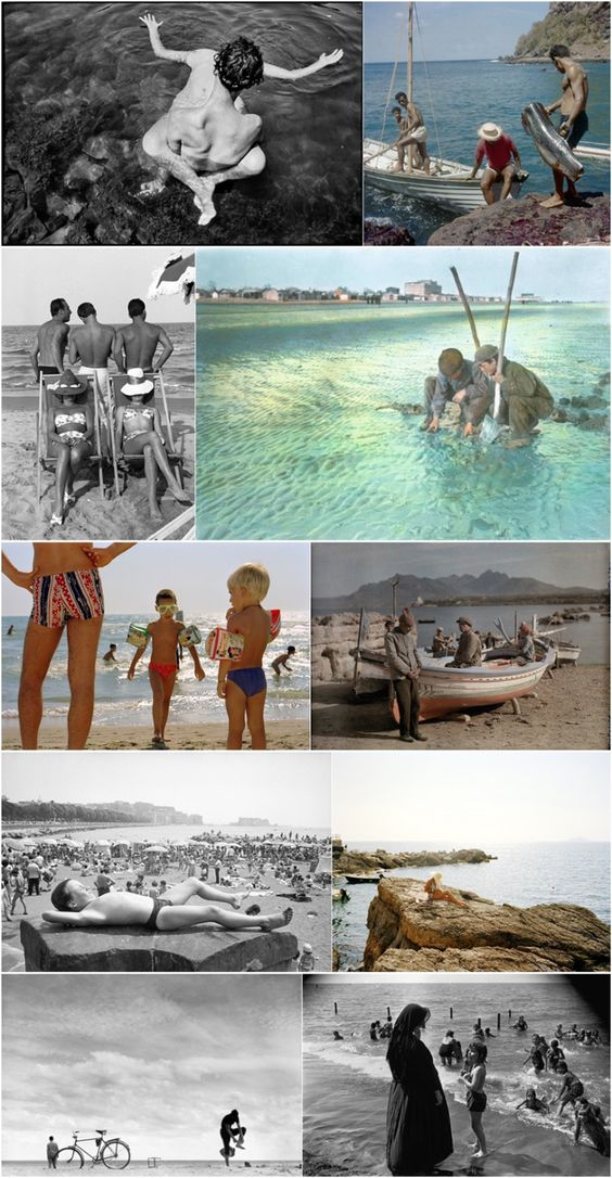 Italian Beach Life, Past and Present