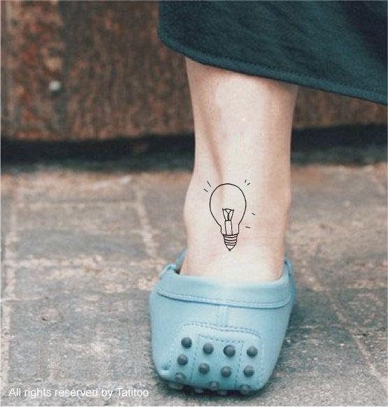 Bombillas tatuaje temporal and tatuajes on pinterest for Salt and light tattoo