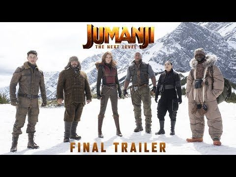 Jumanji The Next Level Final Trailer Updated Predictions Funny Films New Movies Dwayne Johnson