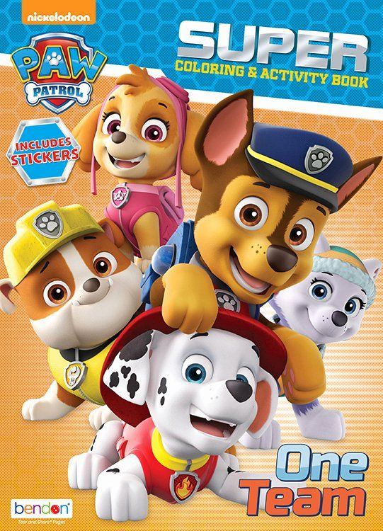 - Paw Patrol Coloring Book Inspirational Paw Patrol Coloring & Activity Book  Drawing & Painting In 2020 Paw Patrol Coloring, Cat Coloring Book, Hello  Kitty Colouring Pages