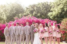 Resultado de imagem para madrinhas de casamento simples rosa e azul