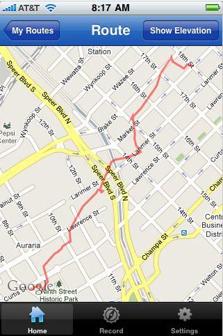 map my run iphone app