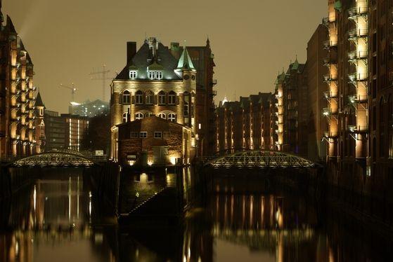Poggenmühlenbrücke, Hamburg, Deutschland