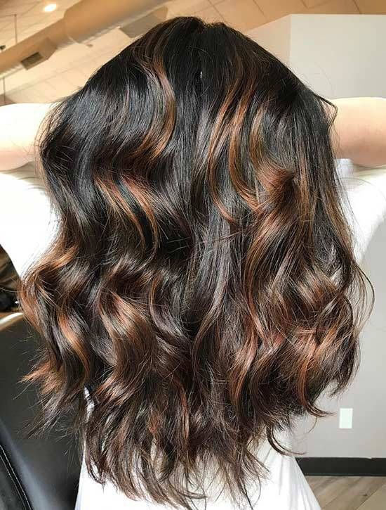 30 Stunning Ideas For Styling Your Caramel Highlights Hairstyle Fix Hair Highlights Black Hair With Highlights Caramel Highlights