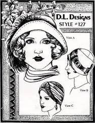 Résultats de recherche d'images pour «creating a 1920's hat pattern»