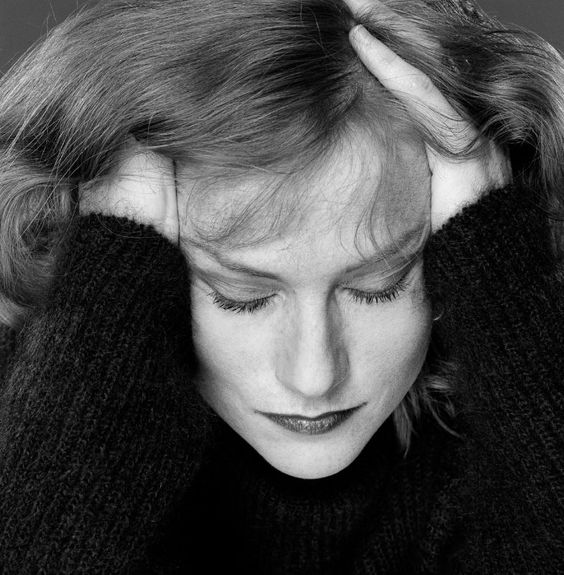 Isabelle Huppert by Robin Holland