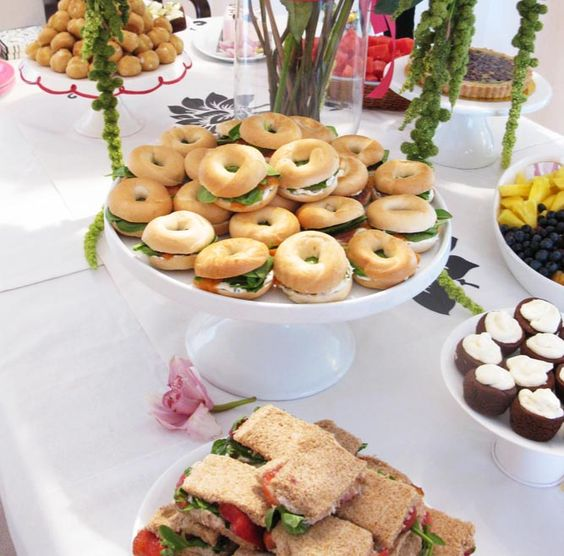 Bridal Shower Foods - Google Search