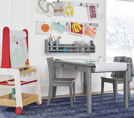 Pin By Caitlin Mccullough On Distance Learning In 2020 Kids Art Table Kids Workspace Kids Play Table