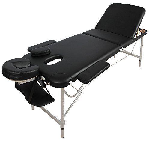 Table De Massage Alu Seulement 11kg Pliante Confort Beaucoup D Accessoires 3z Noir Outdoor Furniture Outdoor Decor Sun Lounger