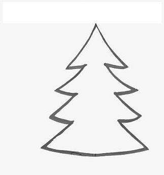 Christmas Tree Template To Print Weihnachten 1