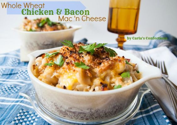 Chicken bacon, Mac and Bacon on Pinterest