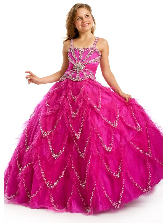 girls pageant gowns | ... pageant dresses for girls compared to casual dresses the point that