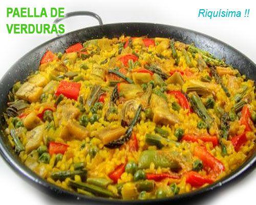 This Domain Was Registered By Youdot Io Paellas Receta Paella Vegetariana Comida Vegetariana