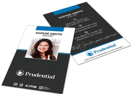 Prudential Business Cards Prudential Business Card Templates Printing Business Cards Business Cards Cards