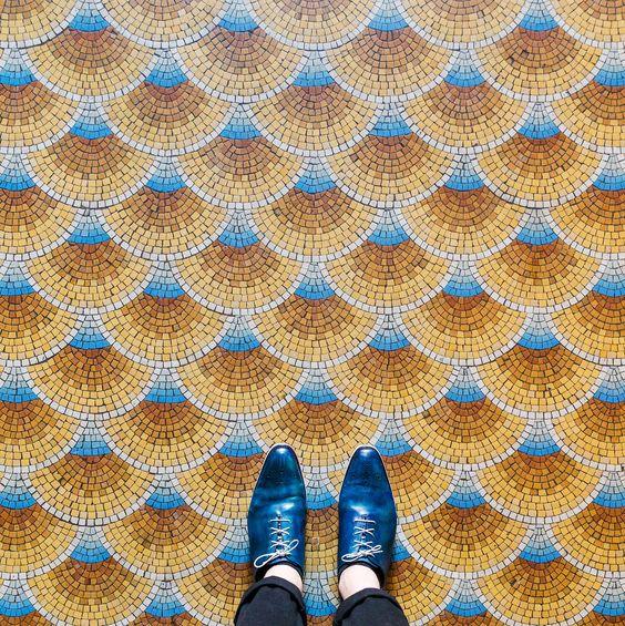 El arte de los suelos de París en una serie de fotos | VICE | Colombia