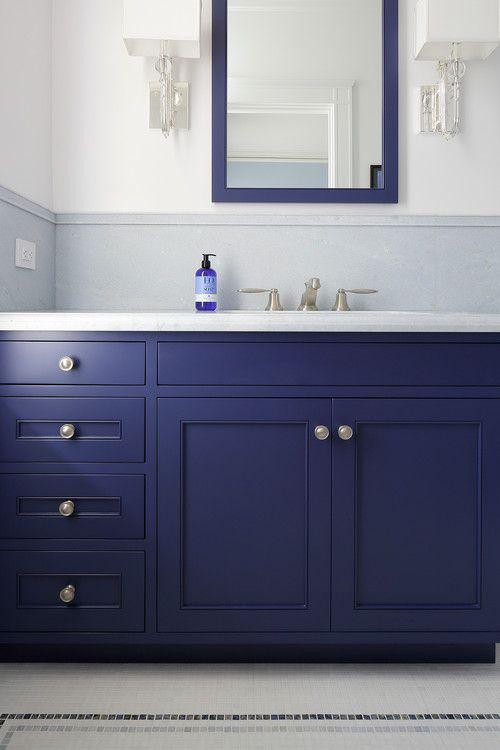 Pacific Heights Apartment San Francisco Gast Architects Georgiana Design Blue Bathroom Vanity Blue Bathroom Trendy Bathroom Tiles