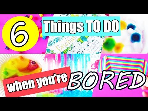 What to do when you re bored at home ideas for kids 6 for Crafts to do when bored pinterest