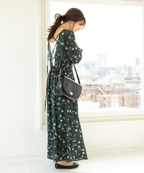 30代40代の大人女性が真似したい 大人の春夏コーデ15選 folk 30代 ワンピース ファッションアイデア ニットワンピース ロング
