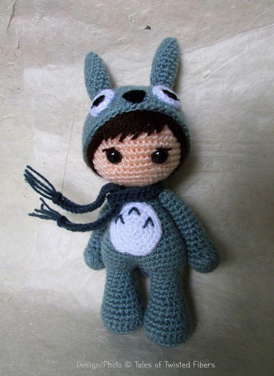 Amigurumi Totoro : Totoro, Amigurumi and Kid on Pinterest