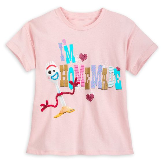 Forky T-Shirt for Girls - Toy Story 4