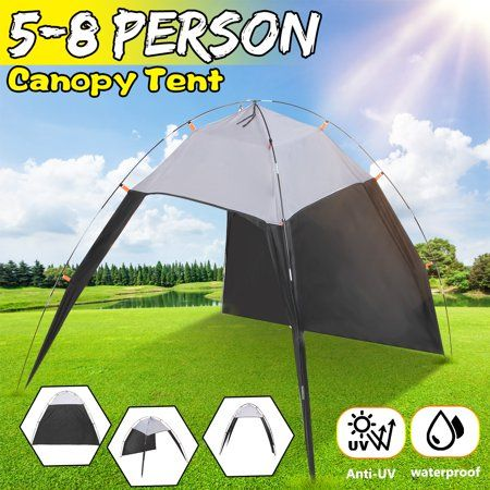 5 to 8 person Portable Sun SHADE Shelter Triangle Beach Tent For Camping Outdoor