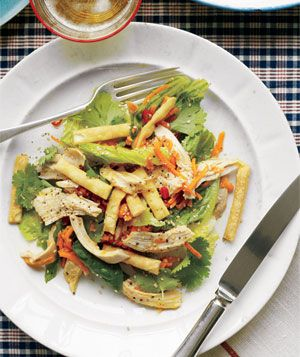 Sesame-Lime Chicken Salad Recipe