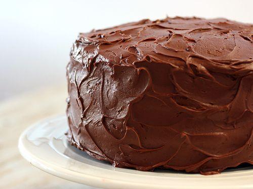 Chocolate cake  |  awww