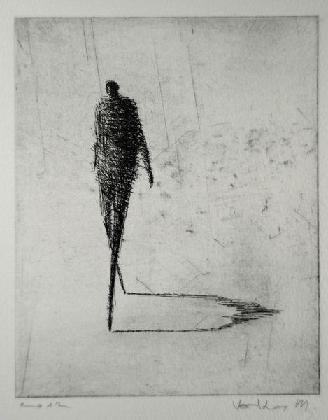 ORIGINAL ETCHING 'Moderate' - Valdas-M - Etchings - Prints - DaWanda