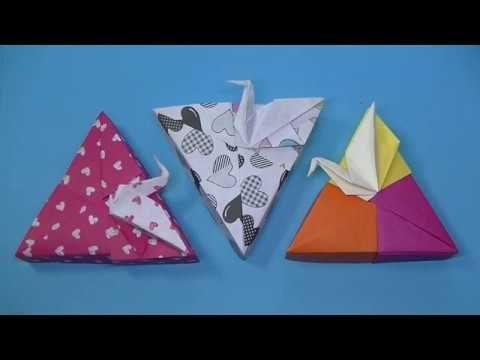 折り紙 箱と蓋 3 鶴の箱はやいバージョン 3枚使います 糊を使います Origami Mr Coin Channel 折り紙 箱と蓋 3 鶴の箱はやいバージョン 3枚使います 糊を使います Origami Origami Boxen Origami Kranich Origami Blume