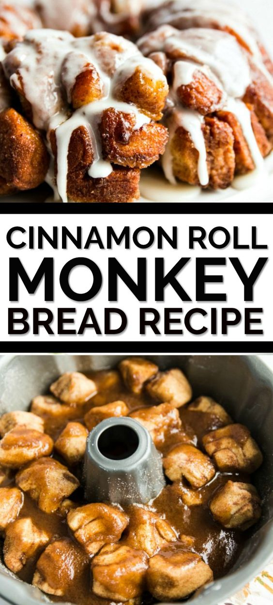 Two of my all time favorite easy breakfast recipes to be cinnamon rolls and monkey bread. So this cinnamon roll monkey bread recipe was a no brainer for me. With only 5 ingredients, this recipe couldn't be easier. Using prepared large cinnamon rolls, instead of grands biscuits, makes this version of traditional monkey bread so simple. Even better — if you want to add frosting, you can literally just use the premade frosting that comes with the cinnamon rolls.