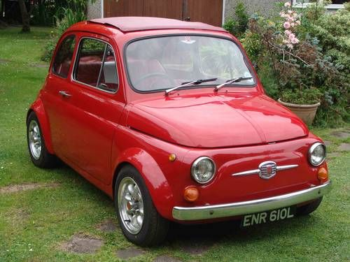 Fiat 500 Abarth Evocation RHD For Sale (1972)