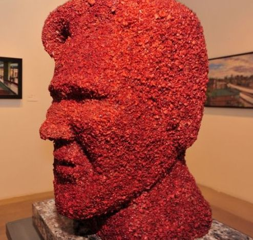 Kevin Bacon rendered in bacon. They don't want to share it; they each want their own.