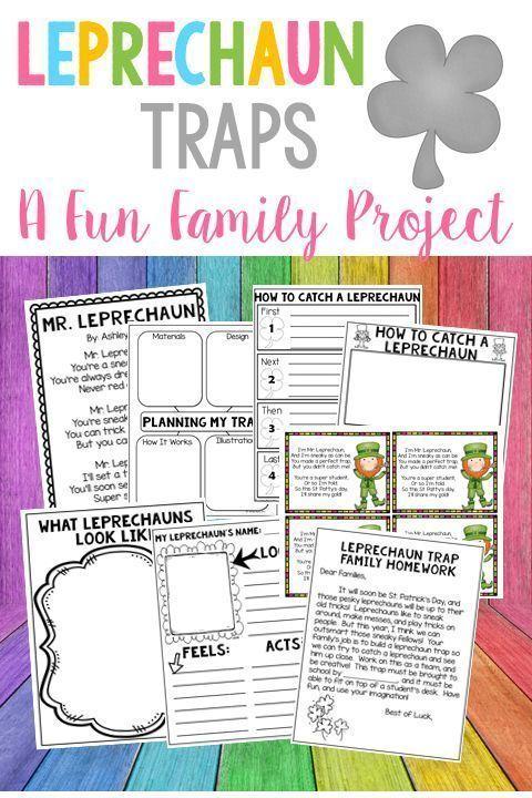 Leprechaun Traps A Fun Family Project Family Project