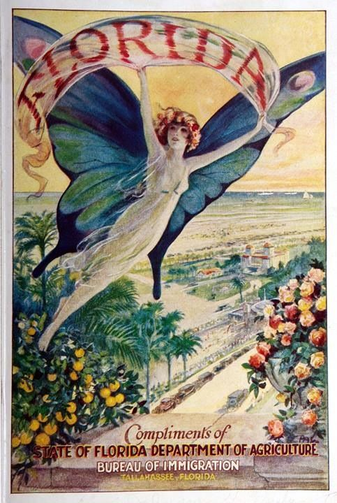 VintageTravel Poster: Florida