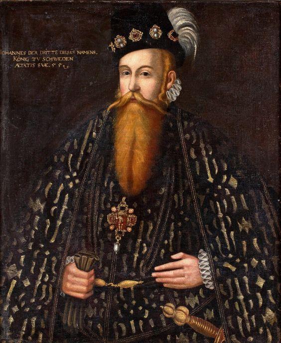 Johan Baptista van Uther, Follower of, King Johan III (1537-1592).