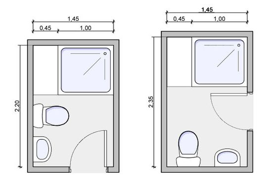 Tiny house bathroom layout i 39 d length and widen it by a for Small 3 4 bathroom plans