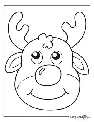 Christmas Coloring Pages Christmas Coloring Pages Christmas Drawings For Kids Easy Christmas Drawings