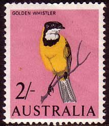 Australia 1964 SG 366 Birds Golden Whistler Fine Mint Scott 370 Other Australian Stamps HERE