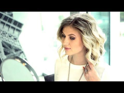 ▶ How To curl with straightener| Short/Medium Hair Tutorial - YouTube