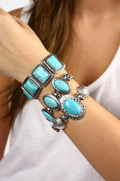 Turquoise is my favorite stone ever!
