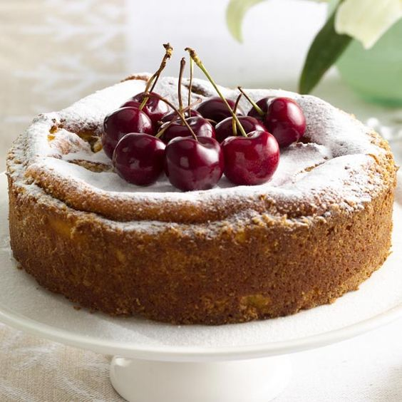 Cheesecake with Brandy Soaked Fruits