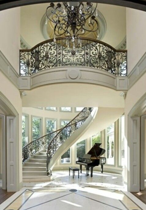 Best Spiral Staircase☆Marble Floors Home Designs Ideas 640 x 480