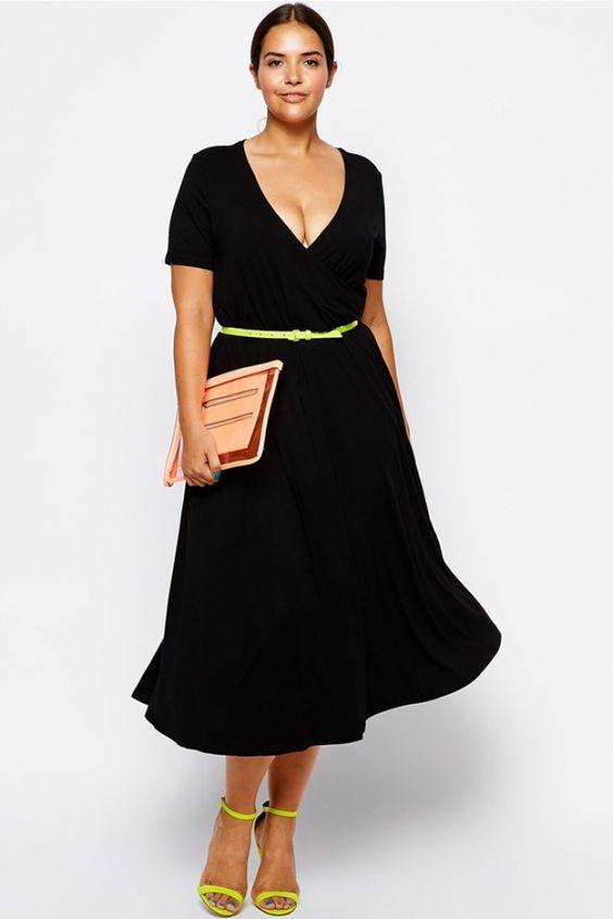 Kleid von Asos Curve / 35,72 €