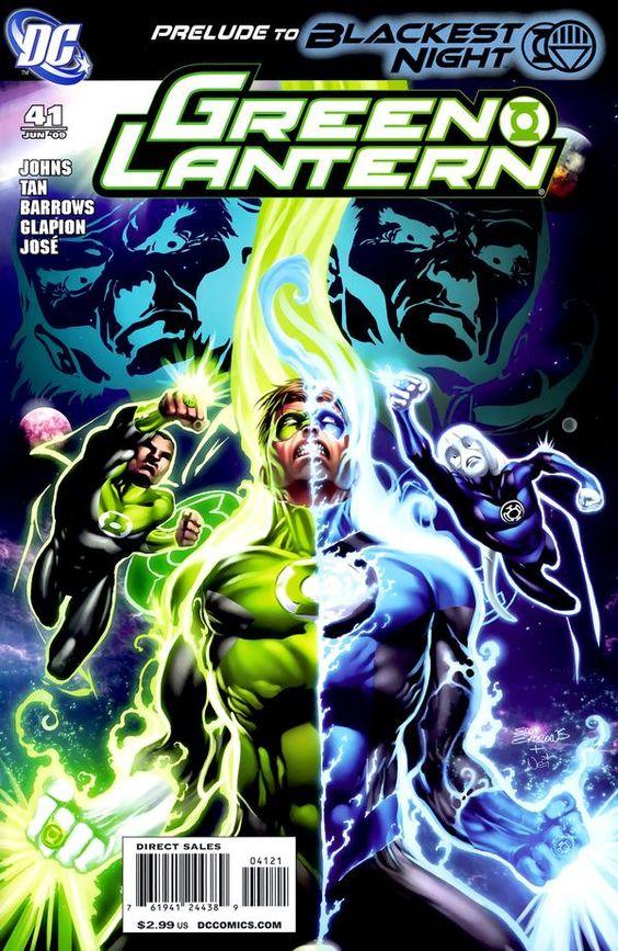 Green Lantern issue 41 cover art